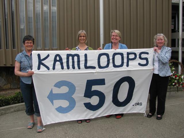 Kamloops 350 at May 5th Peace Walk