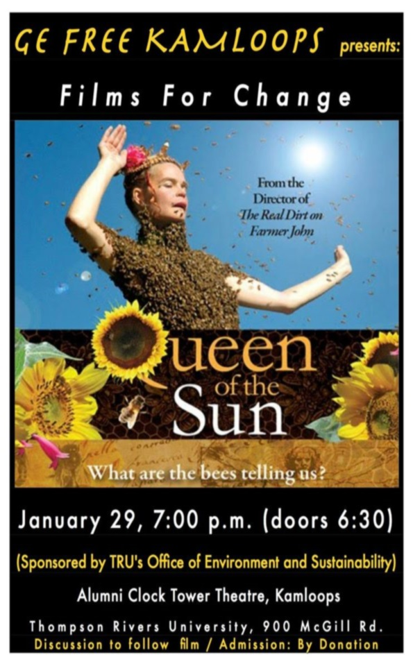 Queen of the Sun: What are the Bees Telling Us? - Transition Kamloops Network   Transition Kamloops Network