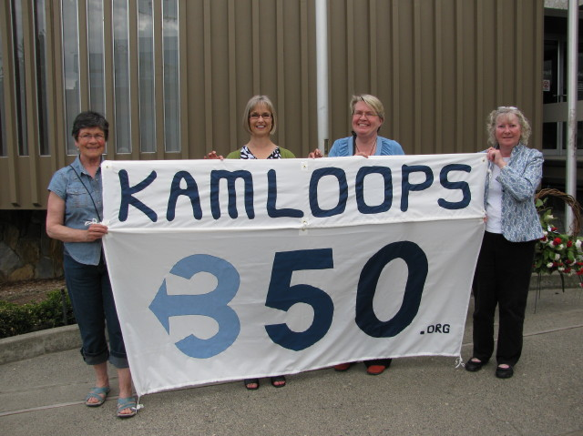 Kamloops 350 at May 5th Peace Walk