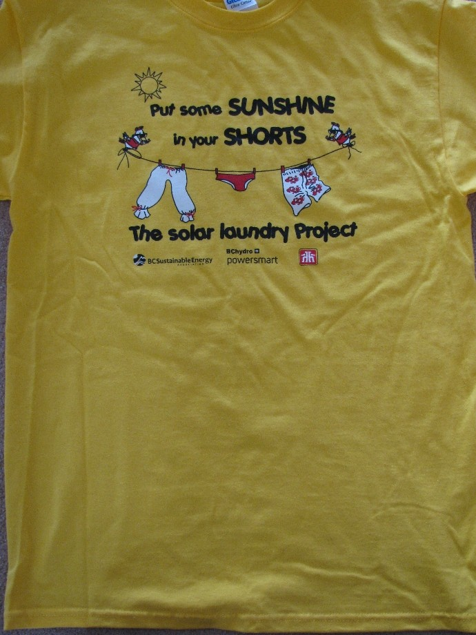 Solar Laundry Project Winds Down